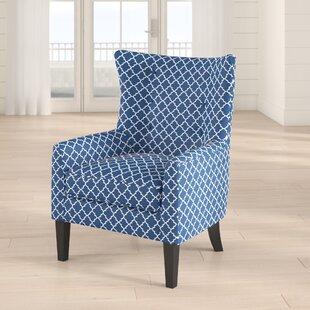 Otsego Wingback Chair by Breakwater Bay