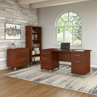 Red Barrel Studio Lumley 3 Piece Desk Office Suite