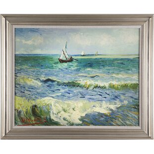 "Starry night over the Rhone 20/""x26/"" Canvas Art Print Vincent Van Gogh"