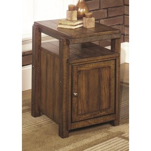 Ivette Cabinet End Table by Loon Peak