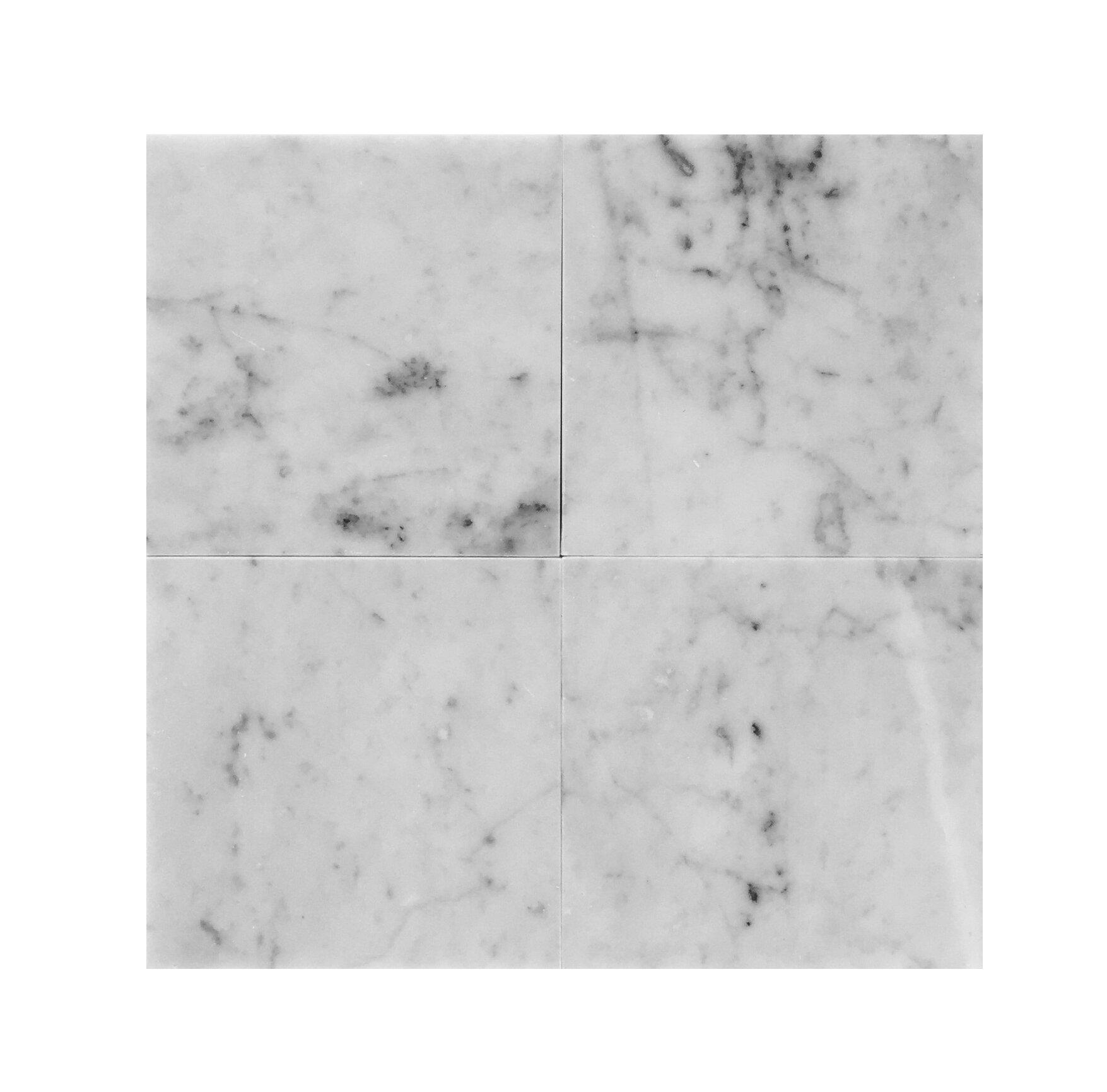 6 X 6 Marble Floor Tiles Wall Tiles You Ll Love In 2021 Wayfair