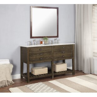 Purchase Lafave 2 Drawer 57 Double Bathroom Vanity ByMercer41