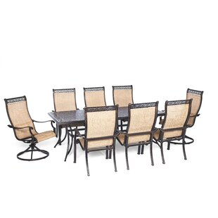 Barras 9 Piece Rectangular Dining Set