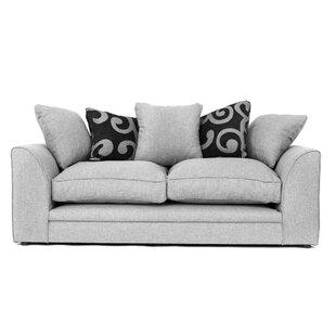 Kaya 3 Seater Sofa By August Grove