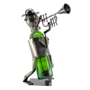Trumpet Player 1 Bottle Tabletop Wine Rac..