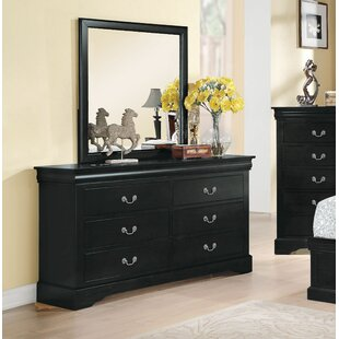 Alcott Hill Wysocki 6 Drawer Double Dresser ..