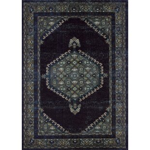 Shop For Burritt Inky Vintage Espresso/Black Area Rug By World Menagerie