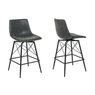 Saxis 26 Swivel Bar Stool (Set of 2)
