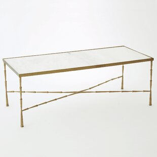 Reviews Spike Marble Coffee Table by Studio A Home