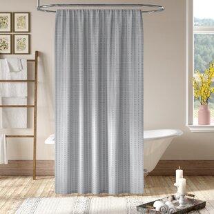Grand Encampment Gray Single Shower Curtain