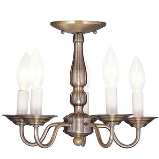 Three Posts Allensby 5-Light Chandelier