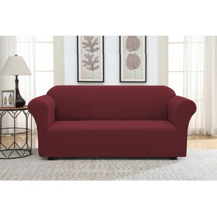 Find for Solid Pique Box Cushion Sofa Slipcover by Winston Porter Reviews (2019) & Buyer's Guide