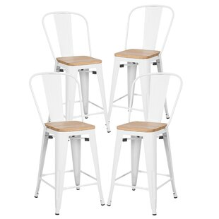 Turn on the Brights Chelsea 23.5 Bar Stool (Set of 4)