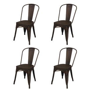 Buy luxury Albanese Dining Chair (Set of 4) by Williston Forge Reviews (2019) & Buyer's Guide