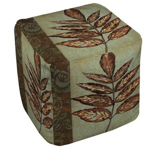Golden Leaf 2 Ottoman by Manual Woodworkers & Weavers