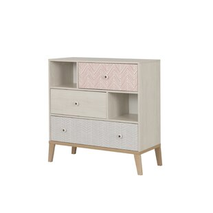 Saoirse 3 Drawer Dresser By Harriet Bee