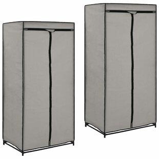 2 Door Wardrobe (Set Of 2) By Symple Stuff