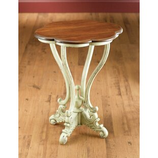 Serpentine End Table