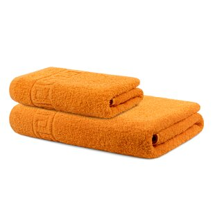Makara 2 Piece 100% Cotton Towel Set