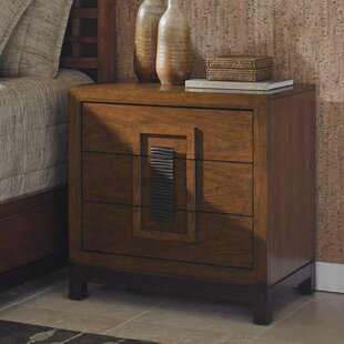 Read Reviews Island Fusion 3 Drawer Bachelor's Chest by Tommy Bahama Home