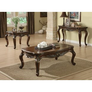 Astoria Grand Mccarthy 3 Piece Coffee Table Set