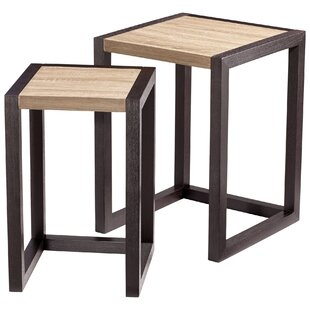 Becket 2 Piece Nesting Tables by Cyan Design