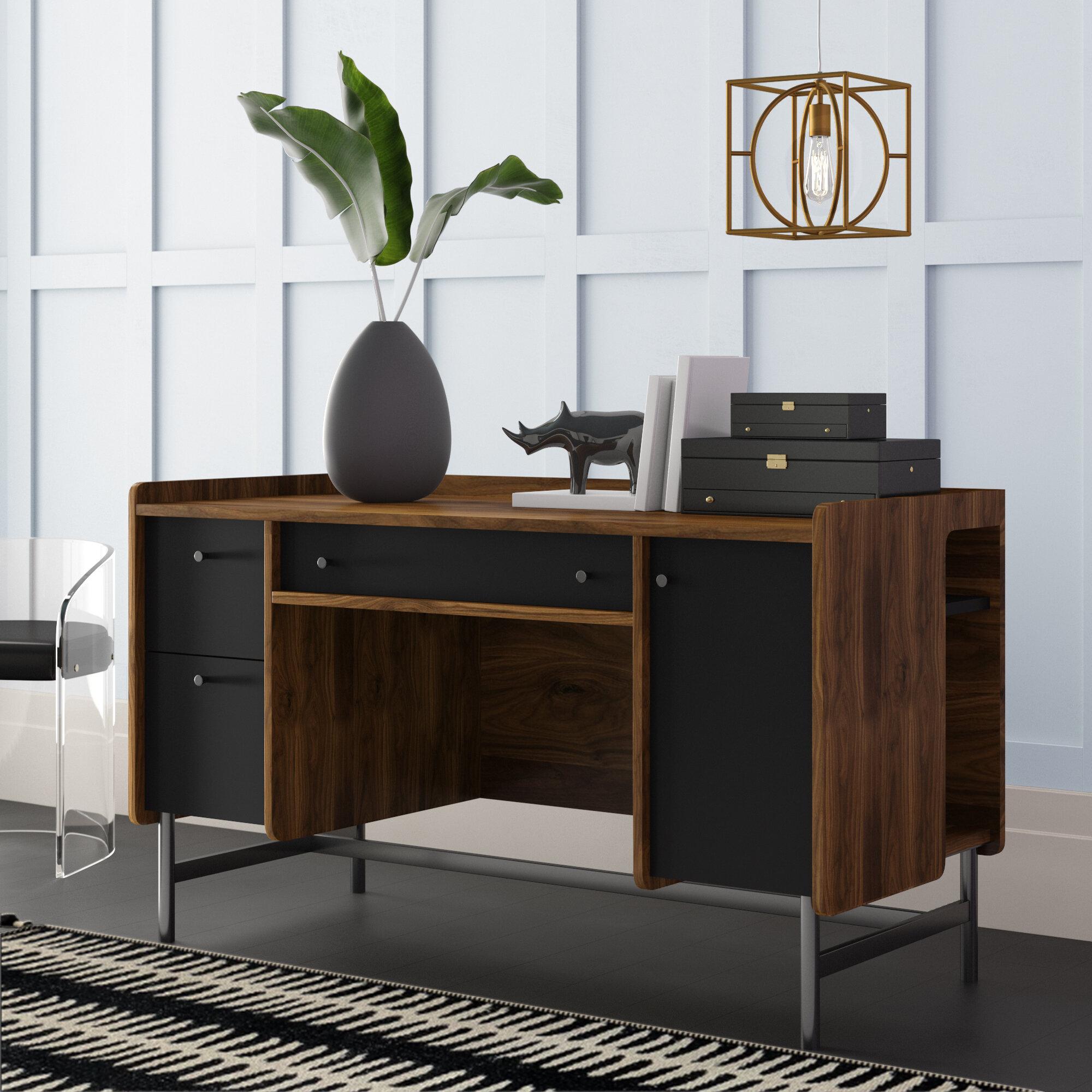 - Mercury Row Posner Desk & Reviews Wayfair