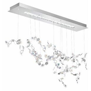 Crystalon 3-Light LED Cluster Pendant by Swarovski