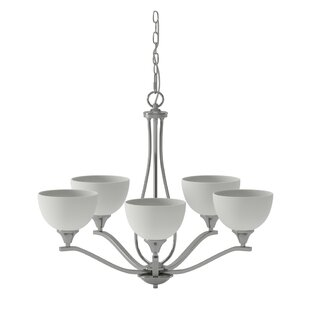Gallimore 5-Light Shaded Chandelier by Darby Home Co