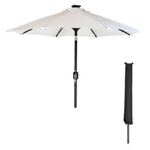 Latitude Run Heger 9' Lighted Umbrella