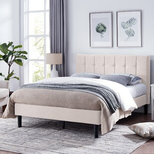 Geno Queen Upholstered Panel Bed