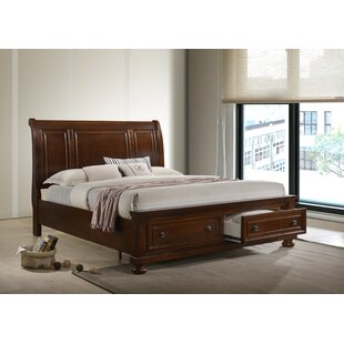 Lillianna Storage Sleigh Bed by DarHome Co Great price