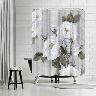 East Urban Home PI Creative Art Graceful Iii Shower Curtain