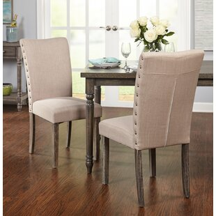 Buy luxury Howie Parsons Dining Chair (Set of 2) by Gracie Oaks Reviews (2019) & Buyer's Guide