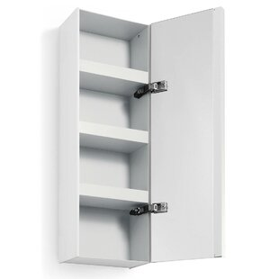 Linea Ciacole 10.4 x 31.5 Surface Mount Medicine Cabinet by WS Bath Collections