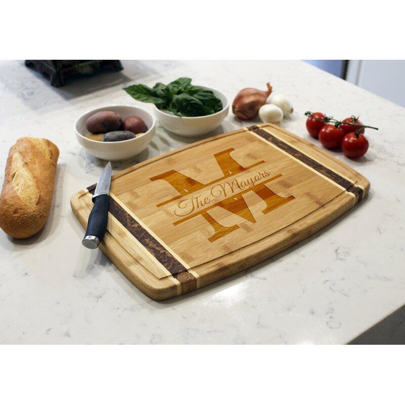 Etchey Bamboo Cutting Board Reviews Wayfair