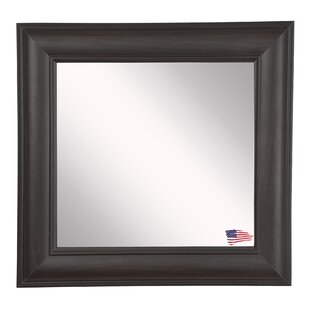 Darby Home Co Square Brown Wall Mirror