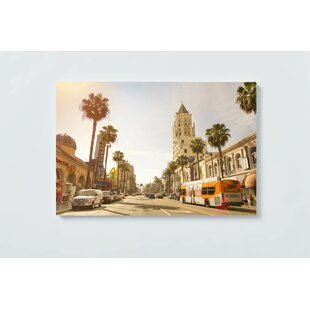 Hollywood Motif Magnetic Wall Mounted Cork Board By Ebern Designs