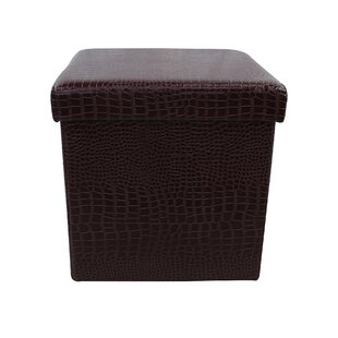 Church Strett Single Folding Storage Ottoman by Winston Porter