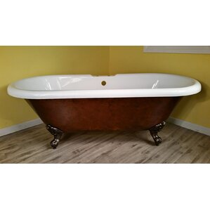 acrylic soaking tub 60 x 30. acrylic slipper clawfoot 60\ soaking tub 60 x 30