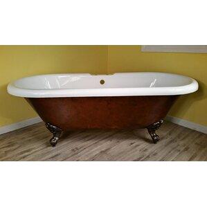 acrylic soaking tub 60 x 30. acrylic slipper clawfoot 60\ soaking tub 60 x 30