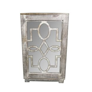 Hallie 1 Door Accent Cabinet b..