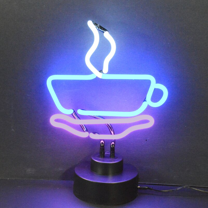 Business Signs Coffee Cup Neon Sign