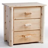 Timothy 3 Drawer Bachelor's Chest by Millwood Pines