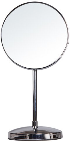 Adeco Trading Round Single Sided Makeup Cosmetic Mirror