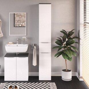 Mucip 30cm X 190cm Free Standing Cabinet By Ebern Designs