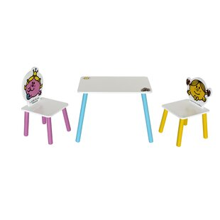 Janette Children's 3 Piece Table And Chair Set By Zoomie Kids