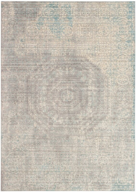Esmeyer Gray Area Rug