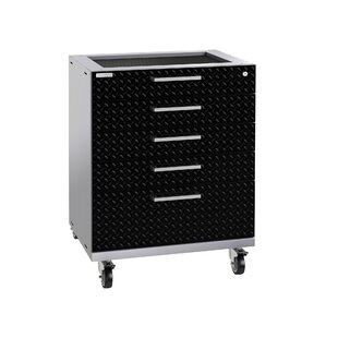 Performance Plus 2.0 Diamond Plate Series 37.25 H x 28 W x 22 D Drawer Tool Cabinet by NewAge Products