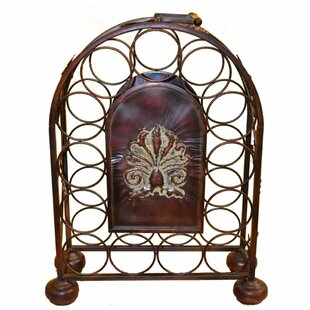Govan Metal 13 Bottle Tabletop Wine Rack by Fleur De Lis Living